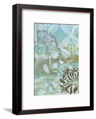 Delicate Collage II-Jennifer Goldberger-Framed Art Print