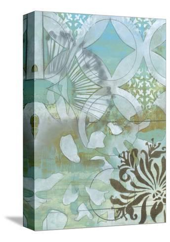 Delicate Collage II-Jennifer Goldberger-Stretched Canvas Print