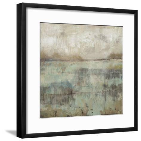Pastels and Rust II-Jennifer Goldberger-Framed Art Print