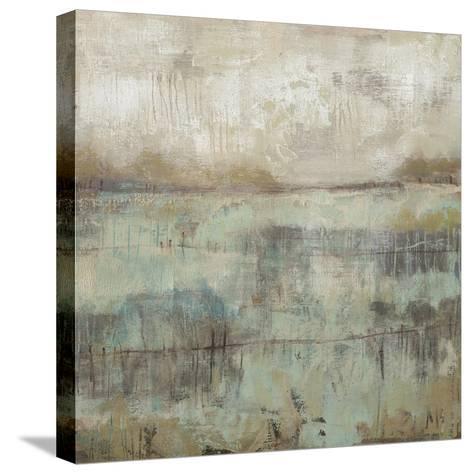 Pastels and Rust II-Jennifer Goldberger-Stretched Canvas Print