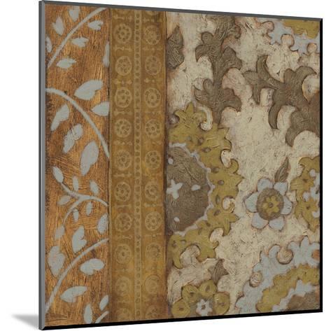 Gilded Sari III-Chariklia Zarris-Mounted Premium Giclee Print
