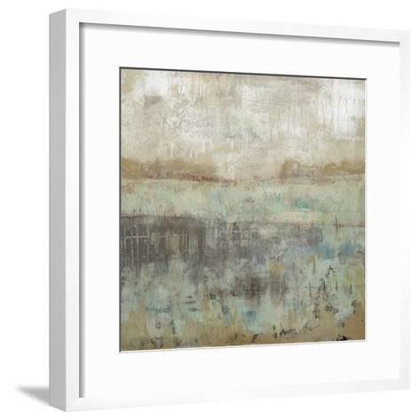 Pastels and Rust I-Jennifer Goldberger-Framed Art Print