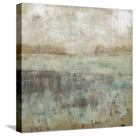 Pastels and Rust I-Jennifer Goldberger-Stretched Canvas Print