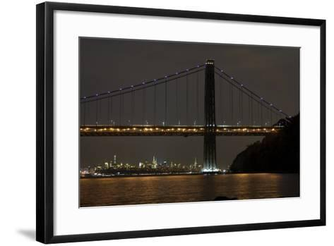 George Washington Bridge II-James McLoughlin-Framed Art Print