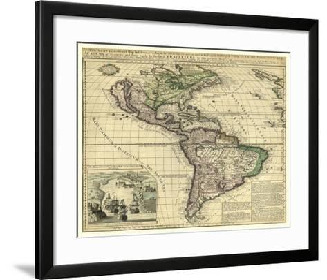 America, London, ca. 1740-Thomas Bakewell-Framed Art Print