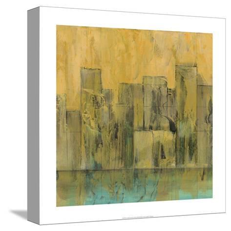 City by the Sea II-Jennifer Goldberger-Stretched Canvas Print