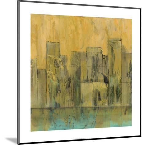 City by the Sea II-Jennifer Goldberger-Mounted Premium Giclee Print