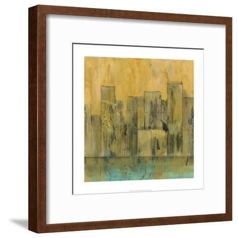 City by the Sea II-Jennifer Goldberger-Framed Art Print
