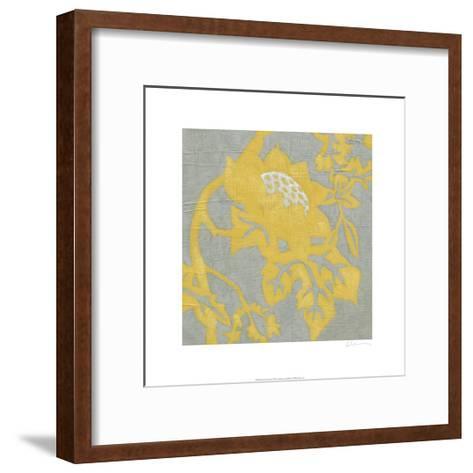 Buttercup Botanical I-Chariklia Zarris-Framed Art Print