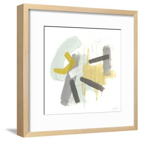 Tonal Frequency II-June Vess-Framed Art Print