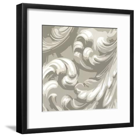 Decorative Relief III-Ethan Harper-Framed Art Print