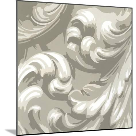Decorative Relief III-Ethan Harper-Mounted Premium Giclee Print