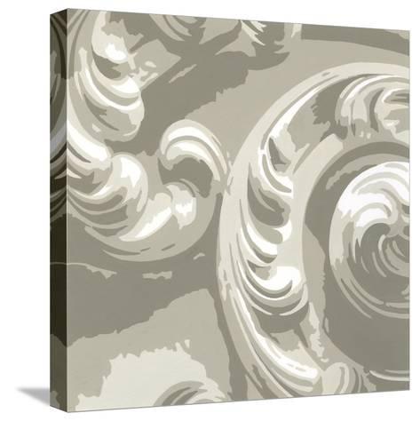 Decorative Relief II-Ethan Harper-Stretched Canvas Print