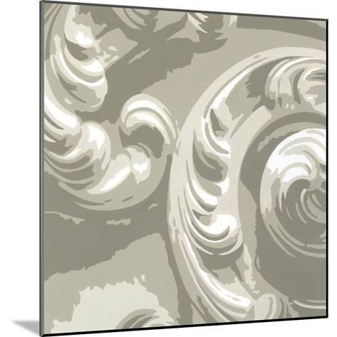 Decorative Relief II-Ethan Harper-Mounted Premium Giclee Print