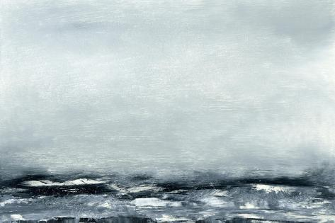 Sea View IV-Sharon Gordon-Stretched Canvas Print