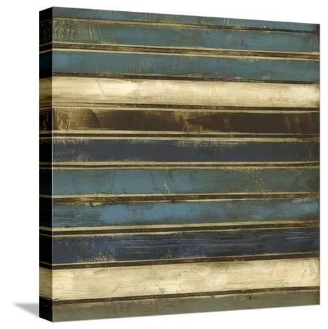 Stacked II-Jennifer Goldberger-Stretched Canvas Print