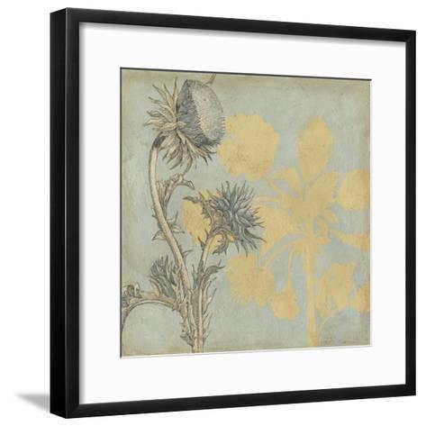Shadow Floral I-Megan Meagher-Framed Art Print