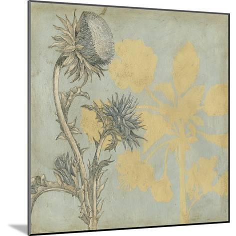 Shadow Floral I-Megan Meagher-Mounted Premium Giclee Print