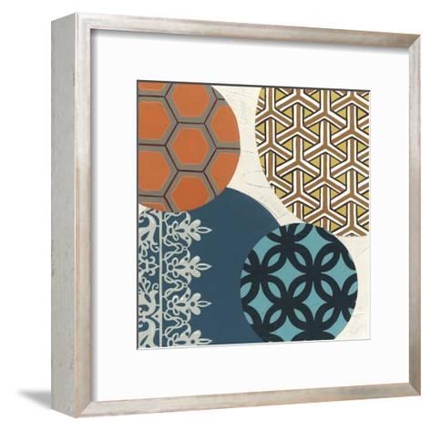 Paper Lanterns IV-June Erica Vess-Framed Art Print
