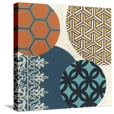 Paper Lanterns IV-June Erica Vess-Stretched Canvas Print