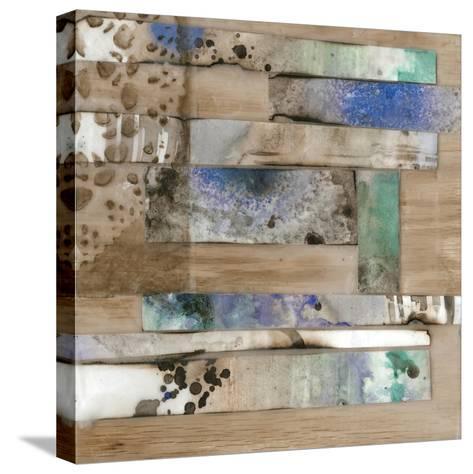 Vellum & Wax II-Jennifer Goldberger-Stretched Canvas Print