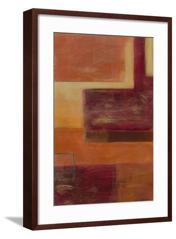 Orange Two-Step III-June Erica Vess-Framed Art Print