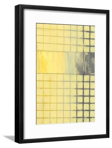 Off The Grid I-Jennifer Goldberger-Framed Art Print