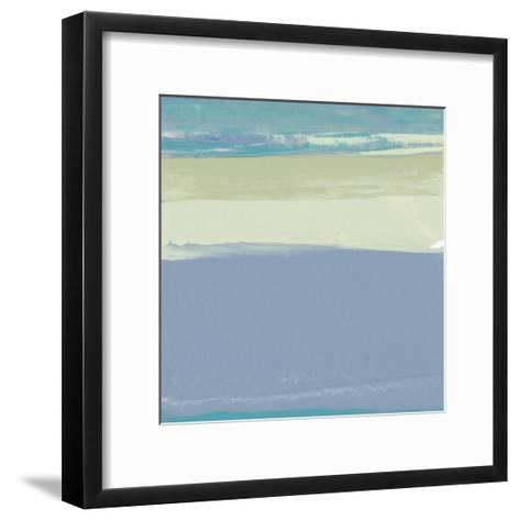 Blue Coast I-Sharon Gordon-Framed Art Print