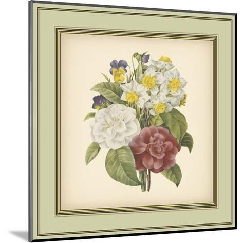 Tuscany Bouquet I-Vision Studio-Mounted Art Print