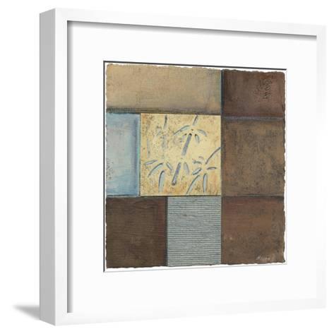 Bamboo in Blue-Mauro-Framed Art Print