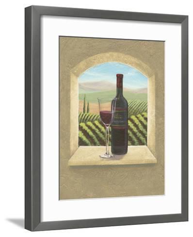 Vineyard Vista II-Joelle McIntyre-Framed Art Print