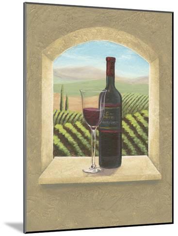 Vineyard Vista II-Joelle McIntyre-Mounted Art Print