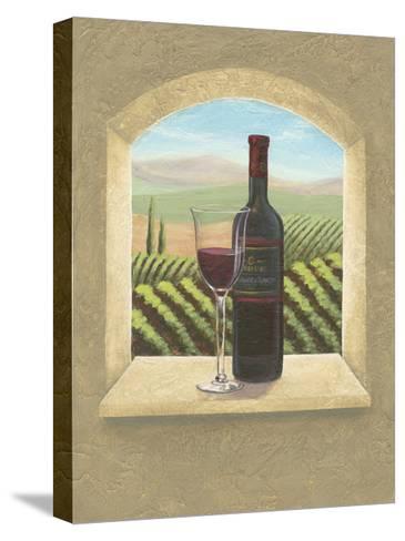 Vineyard Vista II-Joelle McIntyre-Stretched Canvas Print
