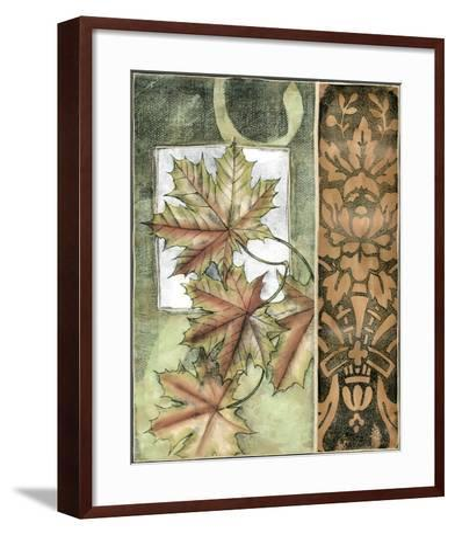 Small Autumn's Bounty II-Jennifer Goldberger-Framed Art Print