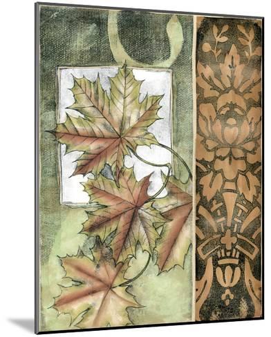 Small Autumn's Bounty II-Jennifer Goldberger-Mounted Art Print