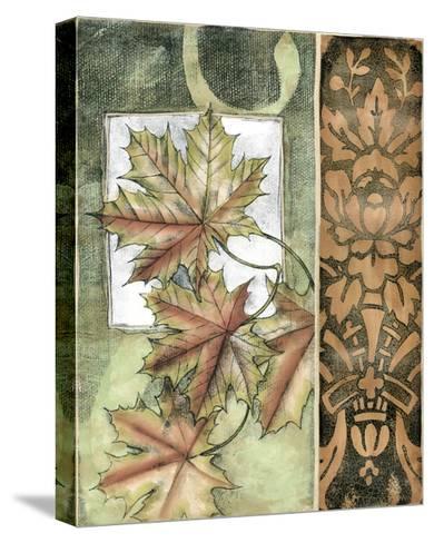 Small Autumn's Bounty II-Jennifer Goldberger-Stretched Canvas Print