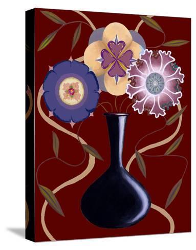 Loft Flowers III-Chariklia Zarris-Stretched Canvas Print