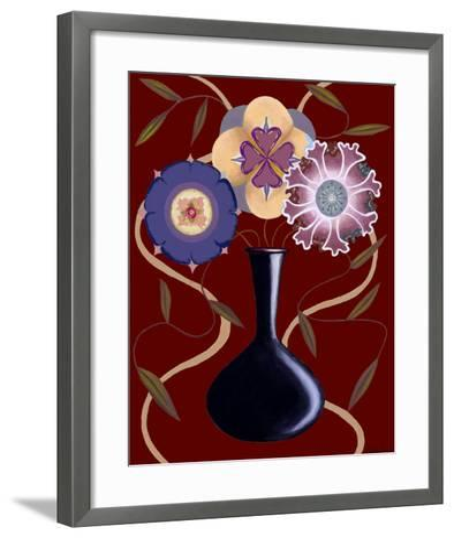 Loft Flowers III-Chariklia Zarris-Framed Art Print