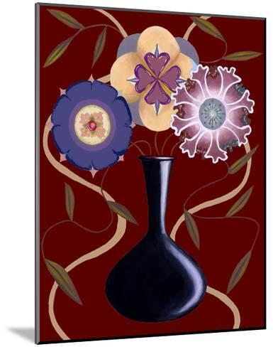 Loft Flowers III-Chariklia Zarris-Mounted Art Print