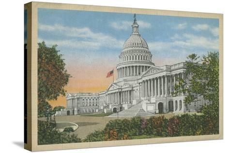 Capitol Building, Washington, D.C.--Stretched Canvas Print