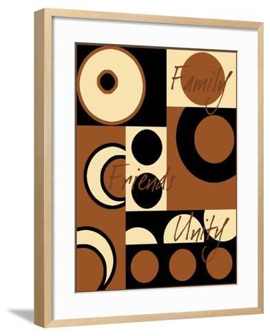 Circle of Friends III-Kate Archie-Framed Art Print