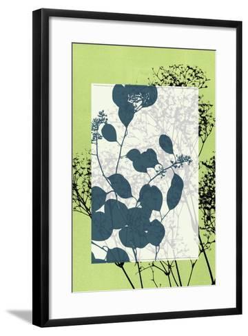 Small Translucent Wildflowers VII-Jennifer Goldberger-Framed Art Print