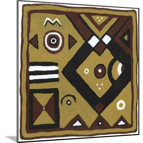 Tribal Rhythms IV-Virginia A^ Roper-Mounted Art Print