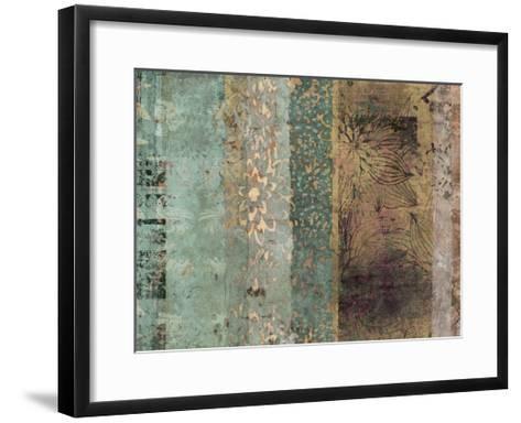 Lotus Patina I-Ricki Mountain-Framed Art Print