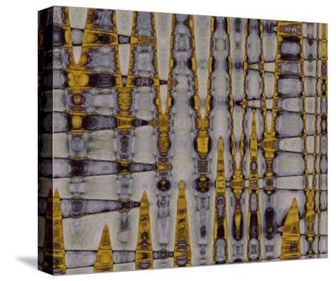 Ochre & Plum II-Ricki Mountain-Stretched Canvas Print