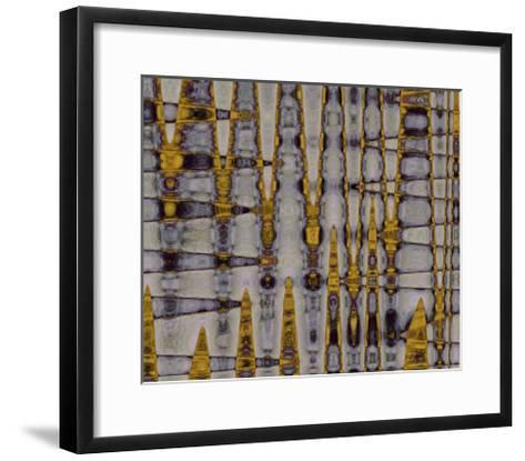 Ochre & Plum II-Ricki Mountain-Framed Art Print
