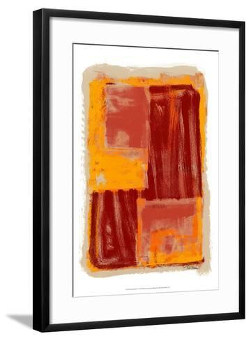 Monoprint IV-Renee W^ Stramel-Framed Art Print