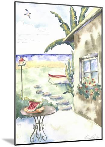 Tropical Holiday I-McCarter-Mounted Art Print