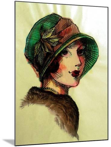20's Girls I-Danielle Harrington-Mounted Art Print