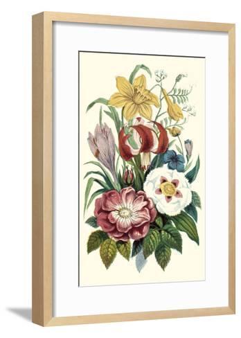 Garden Gathering VII--Framed Art Print